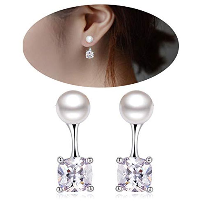 Pearl Stud Earings at Amazon Only £4.5