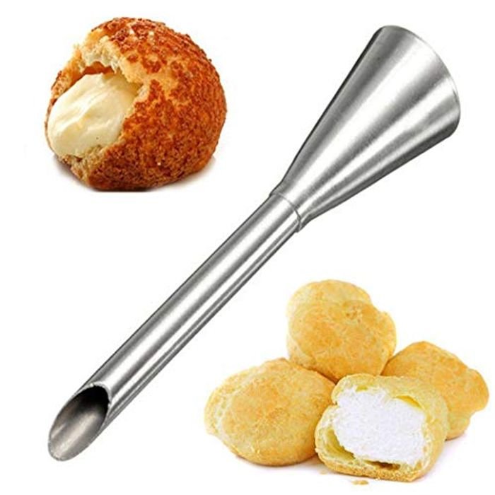 Stainless Steel Bakery Cake Decoration Cream Puffs Nozzle