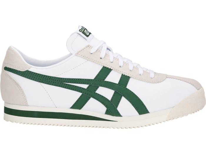 Onitsuka Tiger TIGER CORSAIR Unisex Shoes - WHITE/HUNTER GREEN