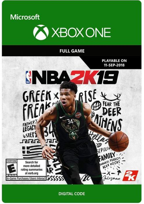NBA 2K19 Xbox One at CDKeys