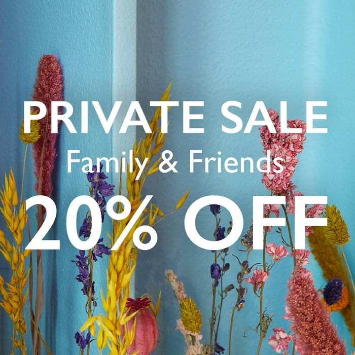 Ends Friday Night - Friends & Family Offer