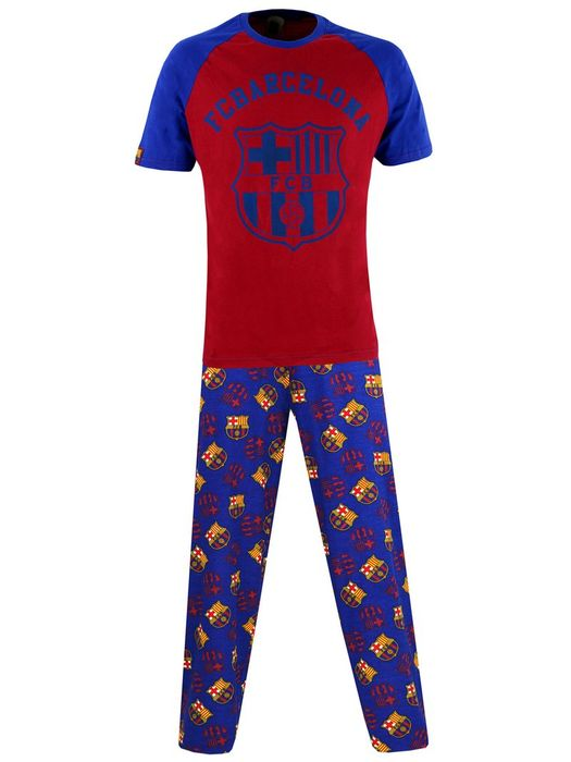 Mens Barcelona Football Club Pyjamas