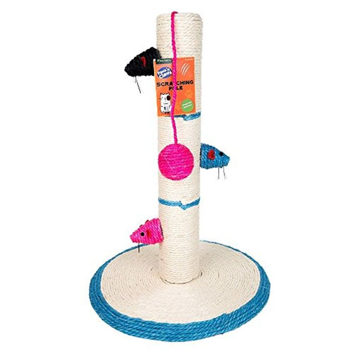Cheap Cat Scratching Pole Scratch Post Activity Centre Play Toys Climbing