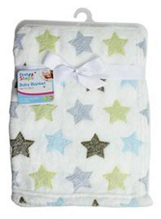 Luxury Soft Baby Blanket in Cute Stars Design Best Price