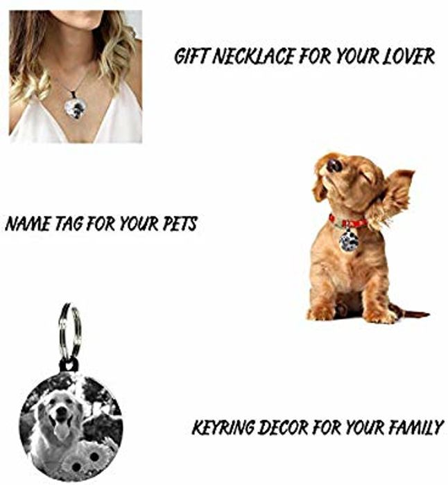 Personalised Gifts-Custom Engraved Necklace