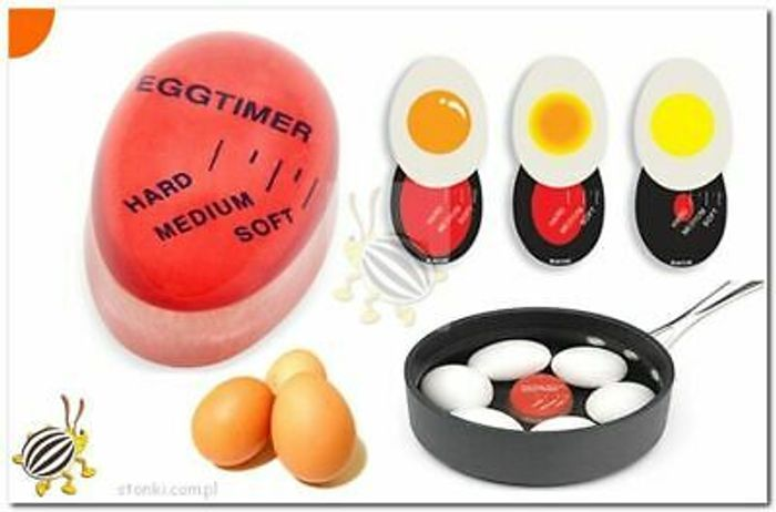 PERFECT EGG, Colouring Changing Egg Timer.
