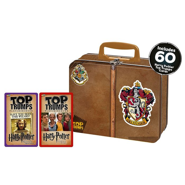 Harry Potter Gryffindor Top Trumps Collector's Tin