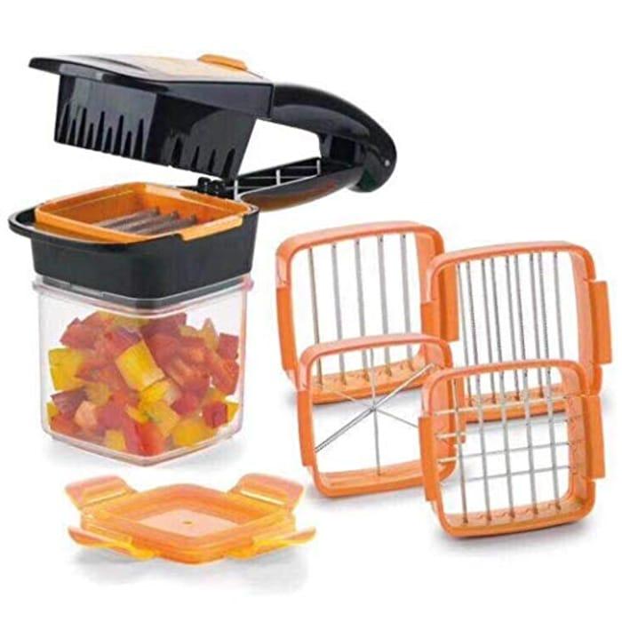 Press Type Cutters Fruit Vegetables Quick Cutter