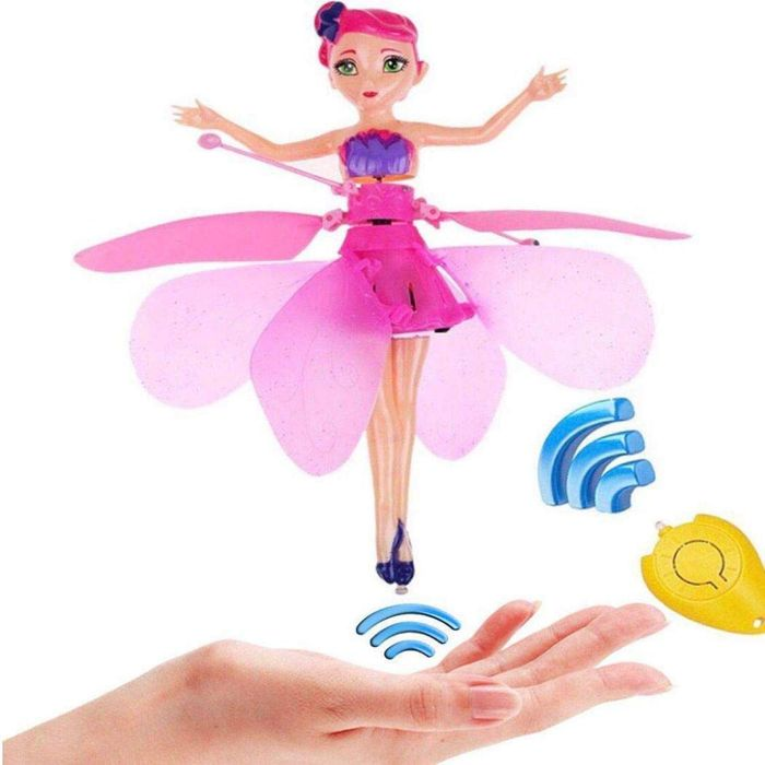 Children Toy Infrared Sensor Remote Control Flying Toy with Music Light Toy