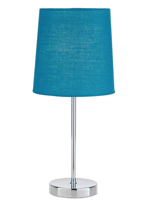 Stick Table Lamp with Teal or Yellow Shades - HALF PRICE!