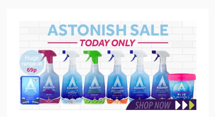 Today Only All Astonish 69p