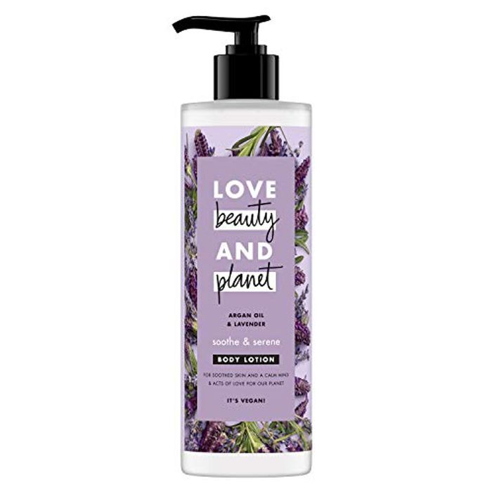Love Beauty and Planet Argan Oil and Lavender Soothe and Serene 400mL - 44% Off