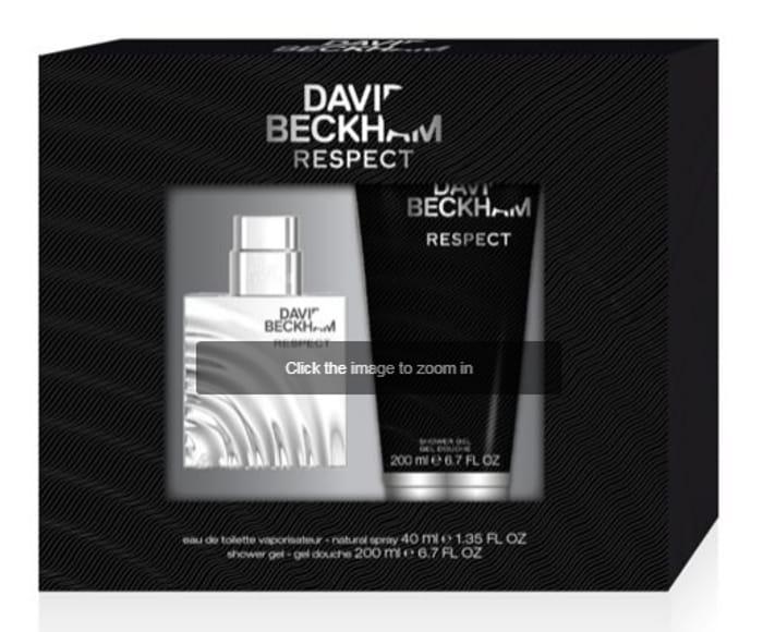 Beckham Respect Eau De Toilette 40ml Gift Set - More than HALF PRICE Only £8.95