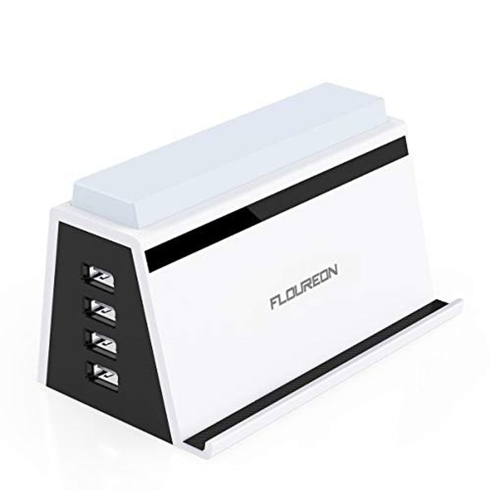 Multi USB Charging Station with 4 USB Ports