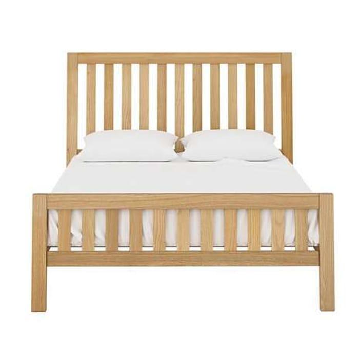 *HALF PRICE* Hastings Solid Oak Bedstead Kingsize £9.95 Delivery