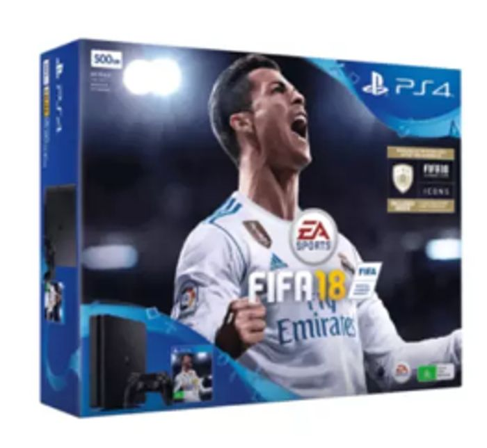 PLAYSTATION 4 500GB FIFA 18 - 40% Off Now Only £179.99