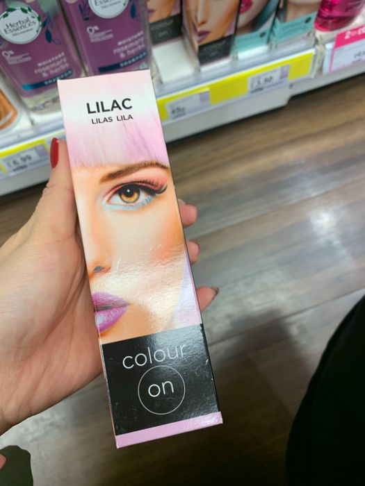 Lilac Temporary Hair Colour at Superdrugs