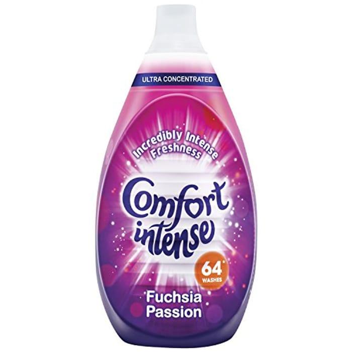 Comfort Intense Passion Fabric Conditioner, 64 Wash, 960 Ml. Best Price