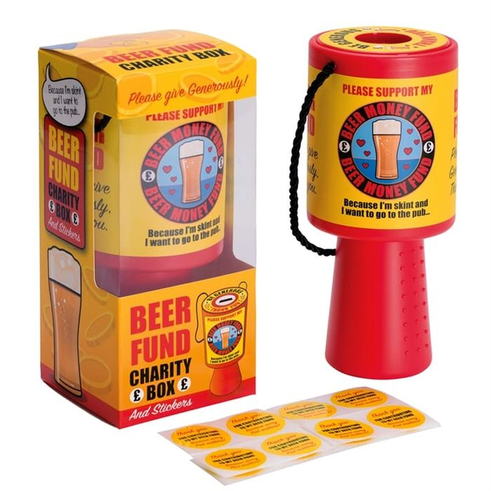 Beer Fund Charity Box