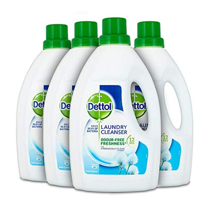 4 Dettol AntiBac Laundry Cleanser for as Little as £6.77