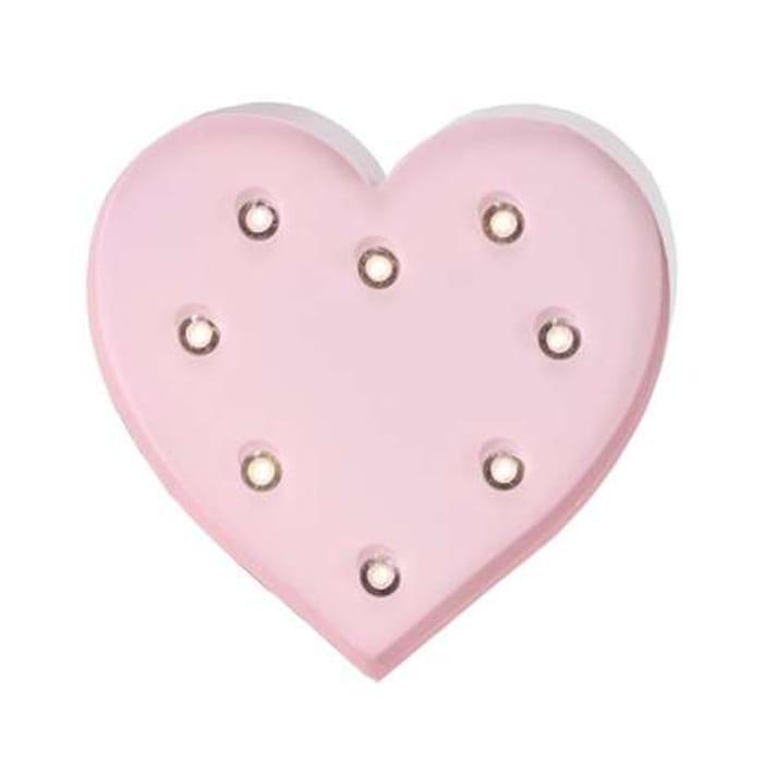 Heart Shaped Pink Light