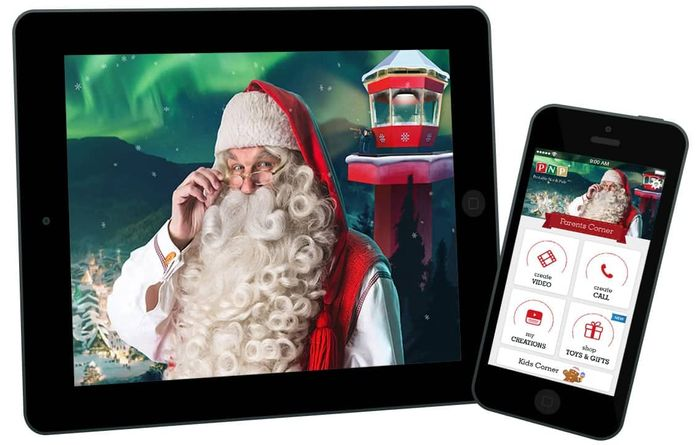 Free Personalized Video Messages from Santa