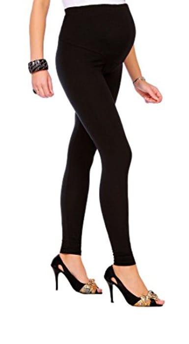 Futuro Fashion Maternity Leggings Full Ankle Length Cotton Leggings