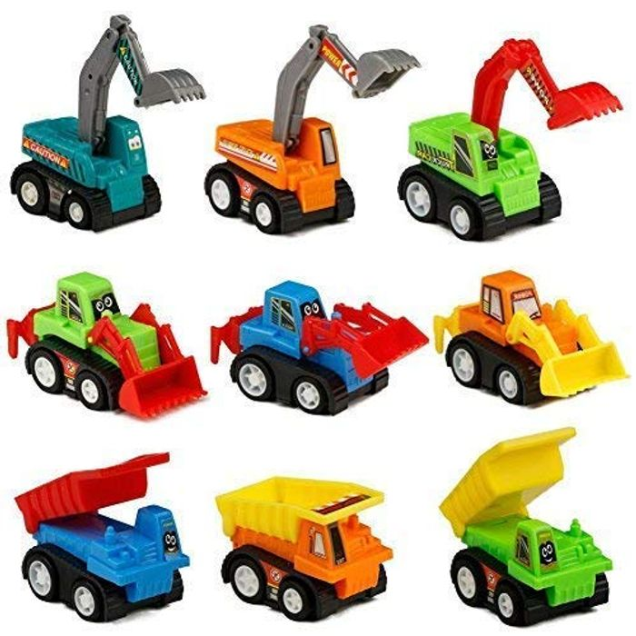 *STACK DEAL* Construction Vehicles Car Toys Mini