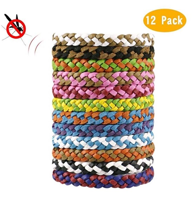 Yokunat 12 Pack Mosquito Repellent Bracelet FREE DELIVERY