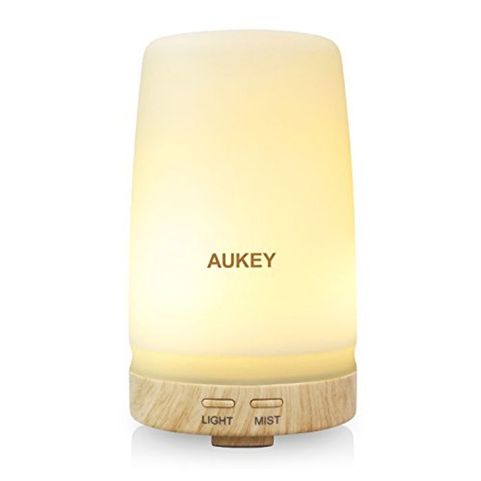 Aukey Aroma Diffuser with Two Color LED Light Change