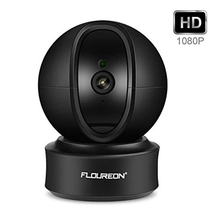 FLOUREON 1080P 2.0 MP WIFI IP Camera - save 40%