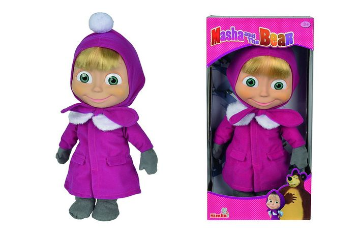 1/2 PRICE Masha and the Bear Doll 40cm