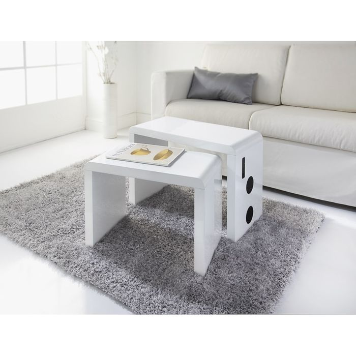 Skye Bluetooth Nested Tables 2pk NOW £36.00 WAS £40.00 10% OFF