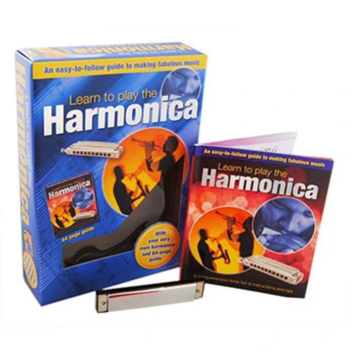 Learn to Play the Harmonica - Gift Set Free C&C