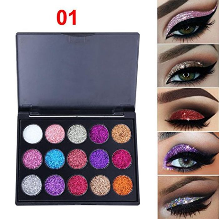 Shimmer Eyeshadow Palette 2 Types to Choose From