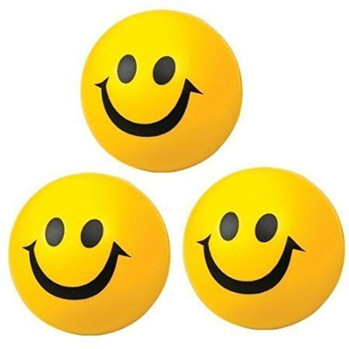 Pack of 3 Happy Ball for Indoor or Outdoor Play