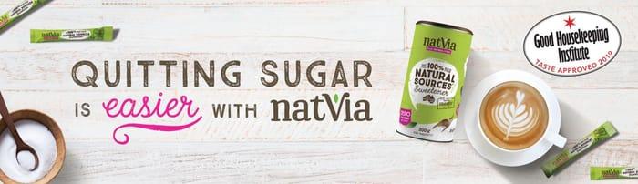 Free Natvia Sweetener Sample