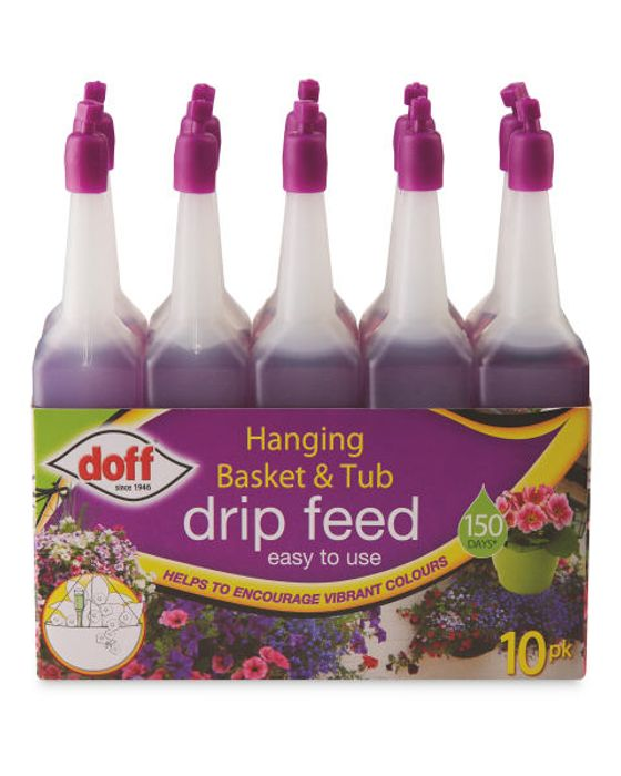 Doff Drip feeders drip feed liquid fertiliser 10pk