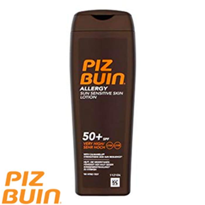 Piz Buin Allergy Lotion SPF 50+ (Instore + Online)