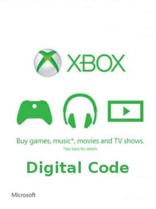 £50 Xbox Live Gift Card