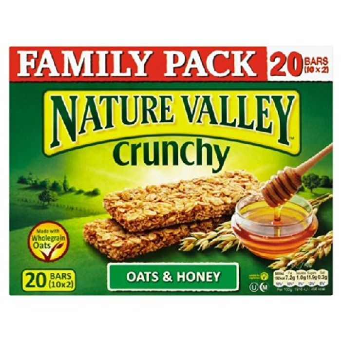 Nature Valley Oats & Honey Family Pack 10 X 42g £1.99 at Home Bargains Instore