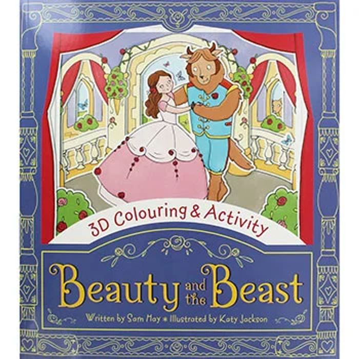 Beauty and the Beast Paperback Book