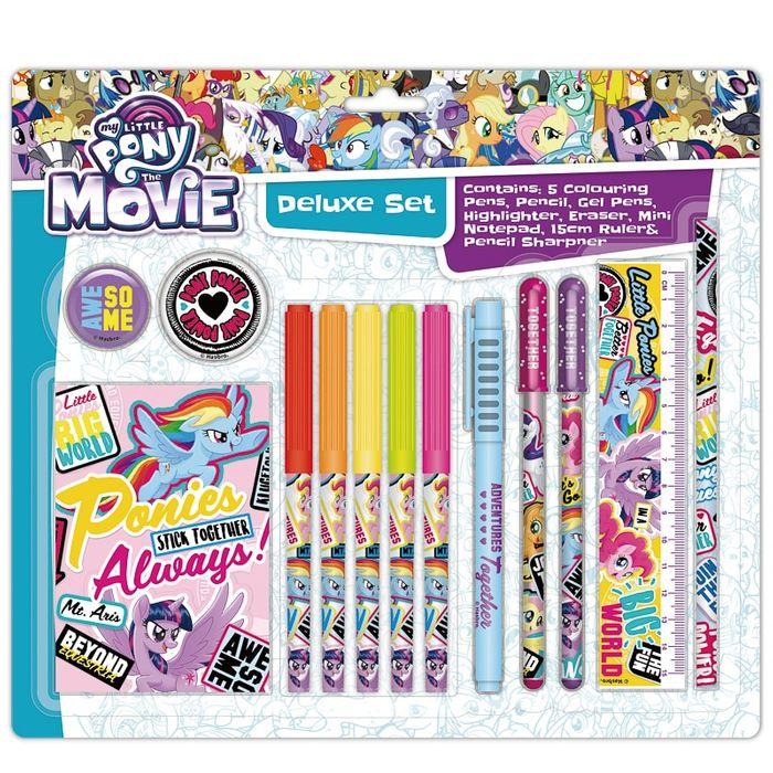 My Little Pony Super Stationery Set Voucher