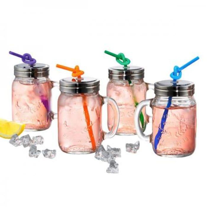 Oasis Tankard Jars - Set of 4 - Save 60%