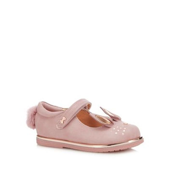 Girls' Pink Bunny Ears Mary Janes
