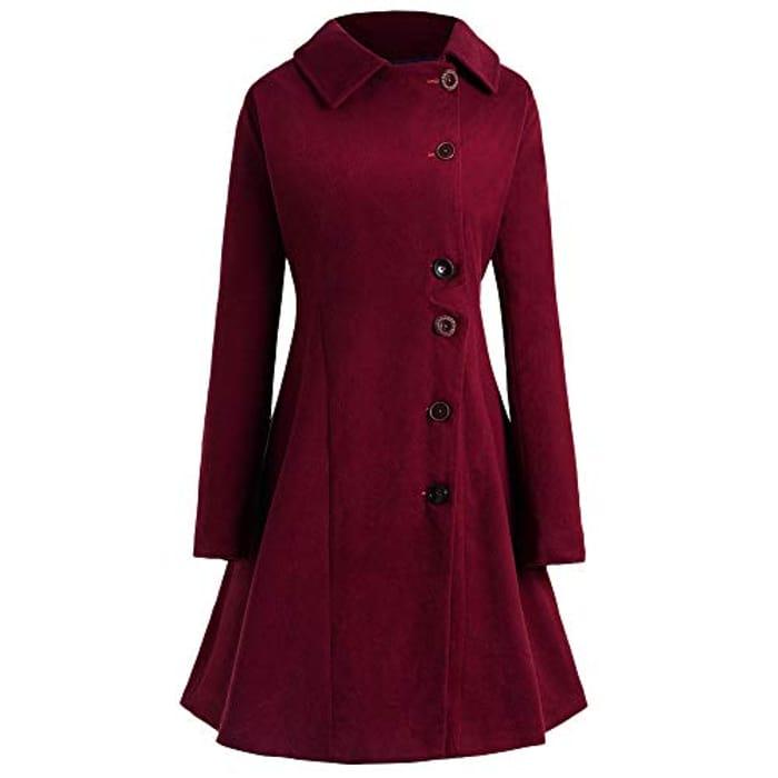 Women's Coat 70% off ( Use Promo )