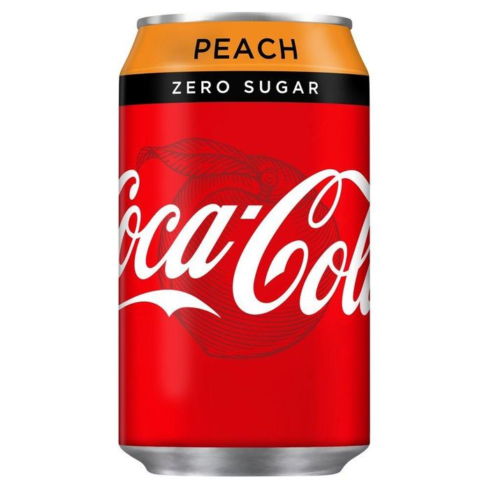 WEEKLY DEAL Coca Cola Zero Peach 330ml