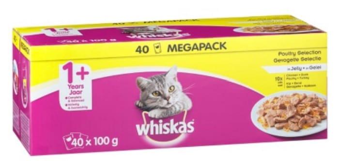 Whiskas 40pk instore
