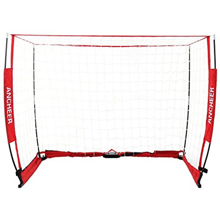eSkate Football Nets & Soccer Goal for Backyard, 6 Ft X 4ft
