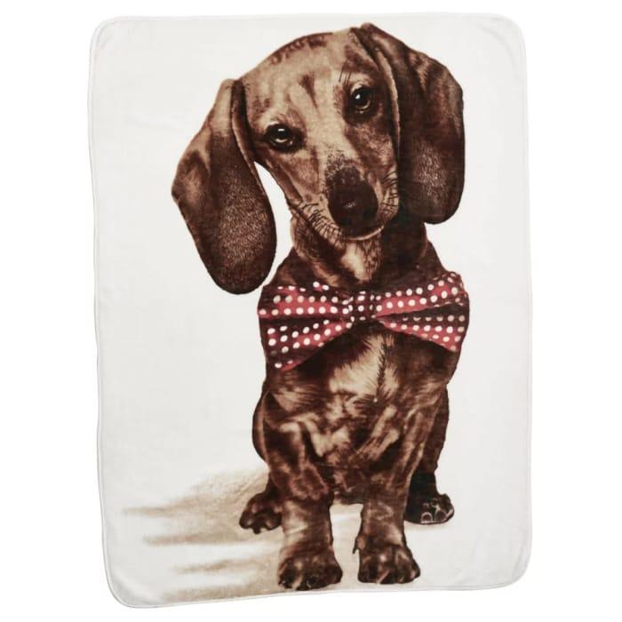 *HALF PRICE* Wilko Dog Print Throw 150 X 200cm Free C&C